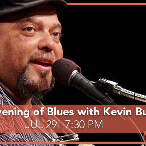 ECA Presents An Evening of Blues with Kevin Burt (Livestream) Photo courtesy of Edmonds Center for the arts