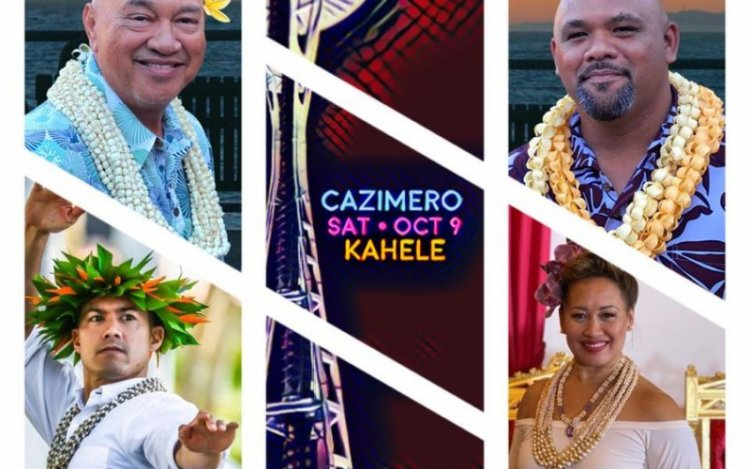 Robert Cazimero and Kuana Torres Kahele In Concert. Photo courtesy of Edmonds Center for the arts.